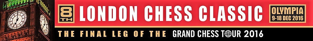 London Chess 2016 logo